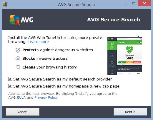 AVG Web Tuneup