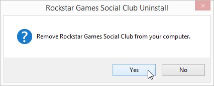 Rockstar Games Social Club uninstall prompts (1)