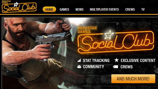 Rockstar Games Social Club