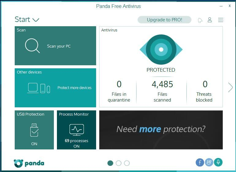 uninstall Panda Free Antivirus 2016