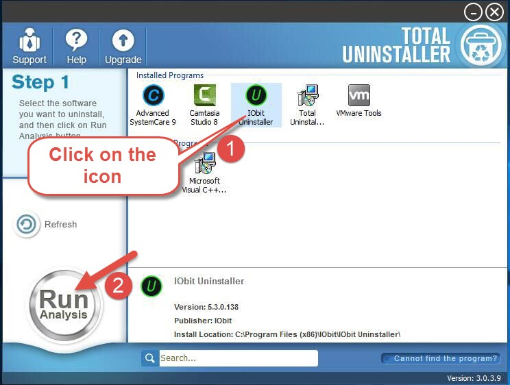 remove IObit Uninstaller