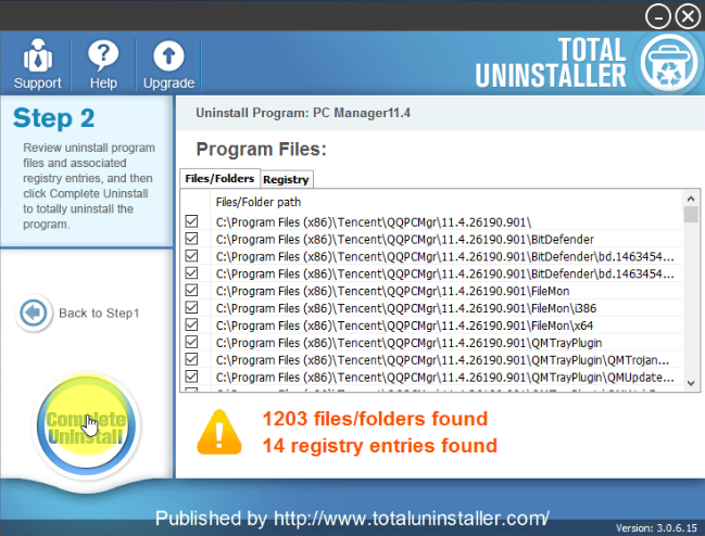 complete_uninstall