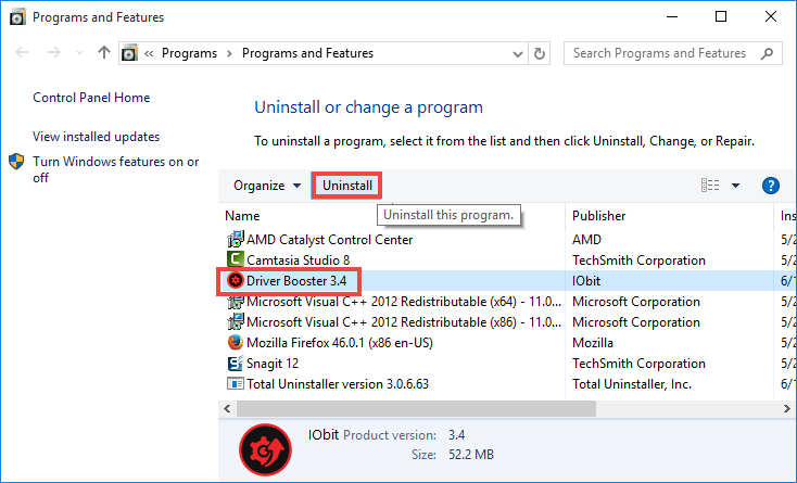 uninstall Driver Booster (3)