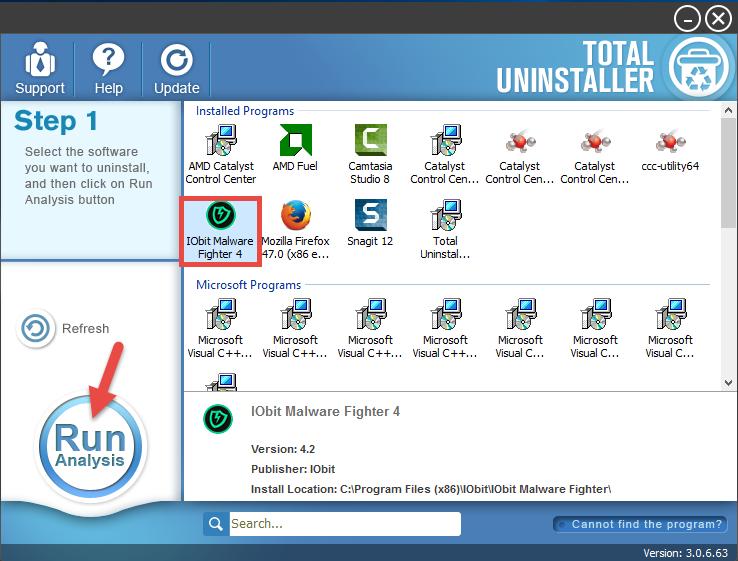 uninstall IObit Malware Fighter (13)