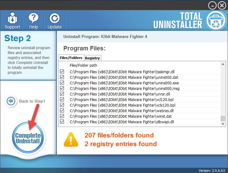 uninstall IObit Malware Fighter (14)