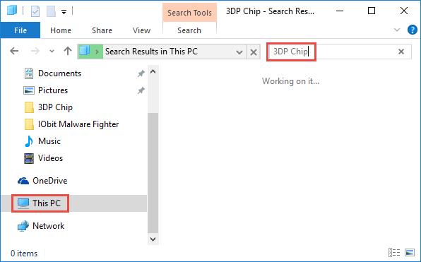 uninstall 3DP Chip (10)