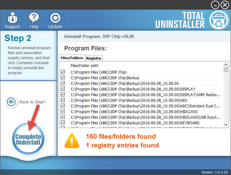 uninstall 3DP Chip (16)