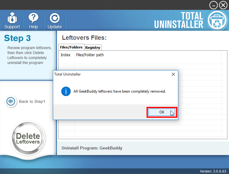 Uninstall GeekBuddy - Total Uninstaller (15)