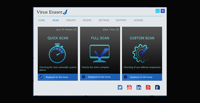 uninstall Virus Eraser Antivirus