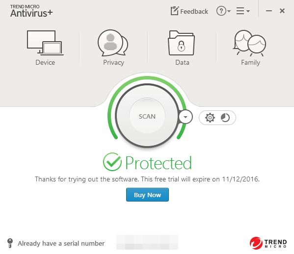 how to uninstall Trend Micro Antivirus+ (1)