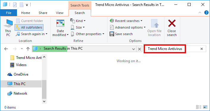 how to uninstall Trend Micro Antivirus+ (5)