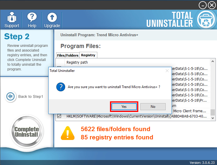 how to uninstall Trend Micro Antivirus+ (8)