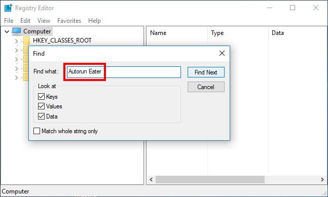 Uninstall Autorun Eater on Windows (6)