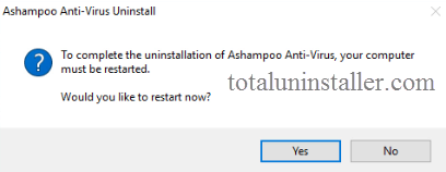 Uninstall Ashampoo Anti-Virus on Windows - Total Uninstaller (15)