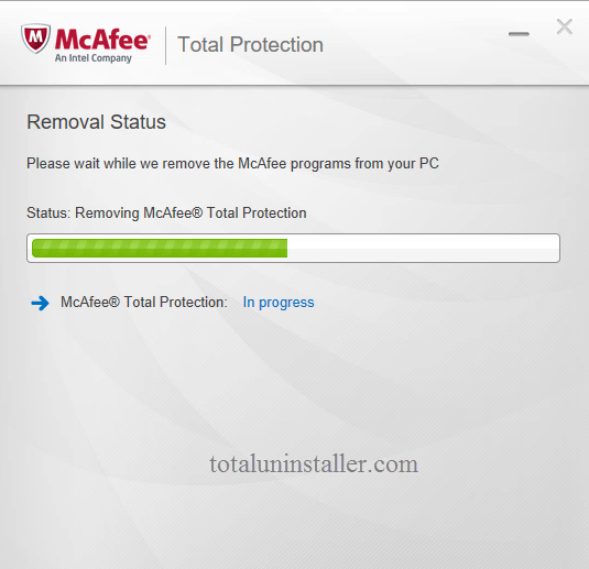 Uninstall McAfee Total Protection - Total Uninstaller (17)