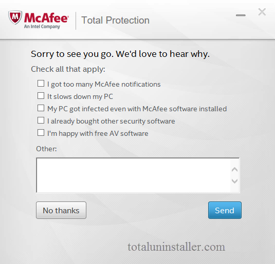 Uninstall McAfee Total Protection - Total Uninstaller (18)