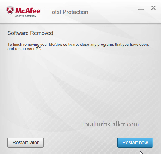 Uninstall McAfee Total Protection - Total Uninstaller (19)