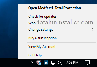 Uninstall McAfee Total Protection - Total Uninstaller (2)