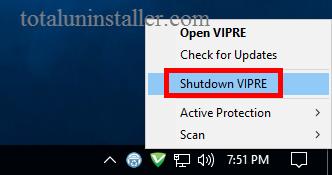Uninstall VIPRE Antivirus 2016 (2)
