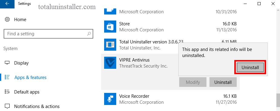 Uninstall VIPRE Antivirus 2016 (5)