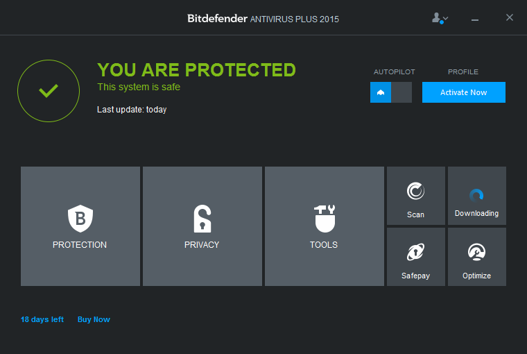 Uninstall Bitdefender Antivirus Plus 2015 on Windows - Total Uninstaller (1)