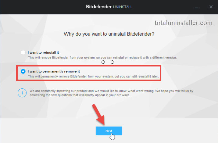 Uninstall Bitdefender Antivirus Plus 2015 on Windows - Total Uninstaller (14)