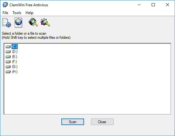 uninstall ClamWin Antivirus on Windows - Total Uninstaller (1)