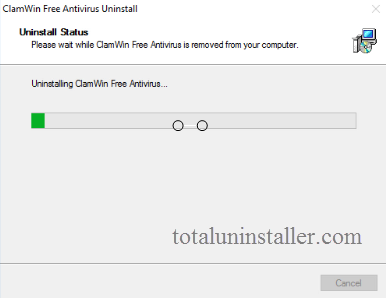 uninstall ClamWin Antivirus on Windows - Total Uninstaller (11)