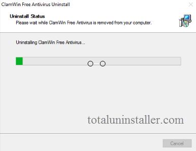 uninstall ClamWin Antivirus on Windows - Total Uninstaller (11)
