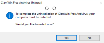 uninstall ClamWin Antivirus on Windows - Total Uninstaller (9)