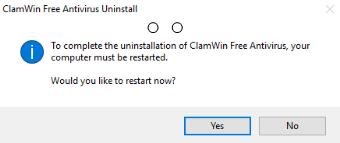 uninstall ClamWin Antivirus on Windows - Total Uninstaller (9)