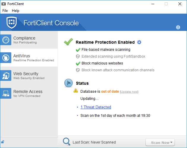 uninstall FortiClient  on Windows - Total Uninstaller (1)