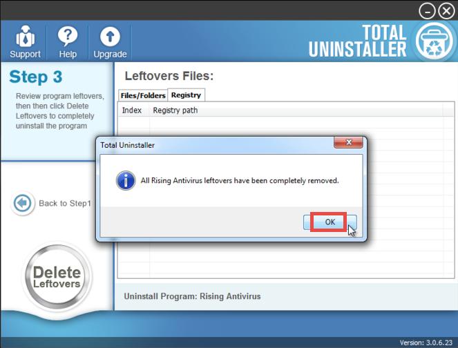 Uninstall Rising Antivirus - Total Uninstaller (15)