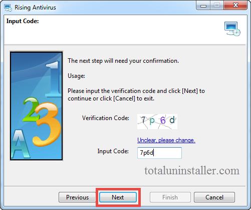 Uninstall Rising Antivirus - Total Uninstaller (6)