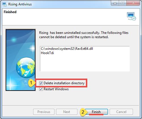 Uninstall Rising Antivirus - Total Uninstaller (8)