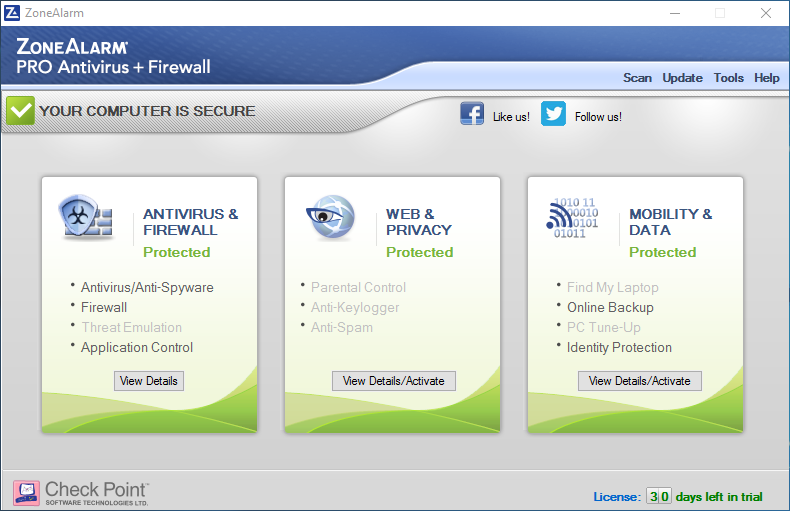Uninstall ZoneAlarm Pro Antivirus + Firewall - Total Uninstaller (1)