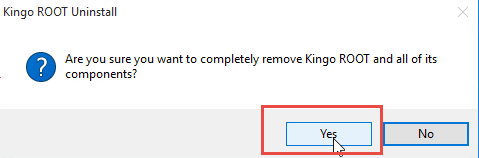 How can Stop and Uninstall Kingo Android Root from PC