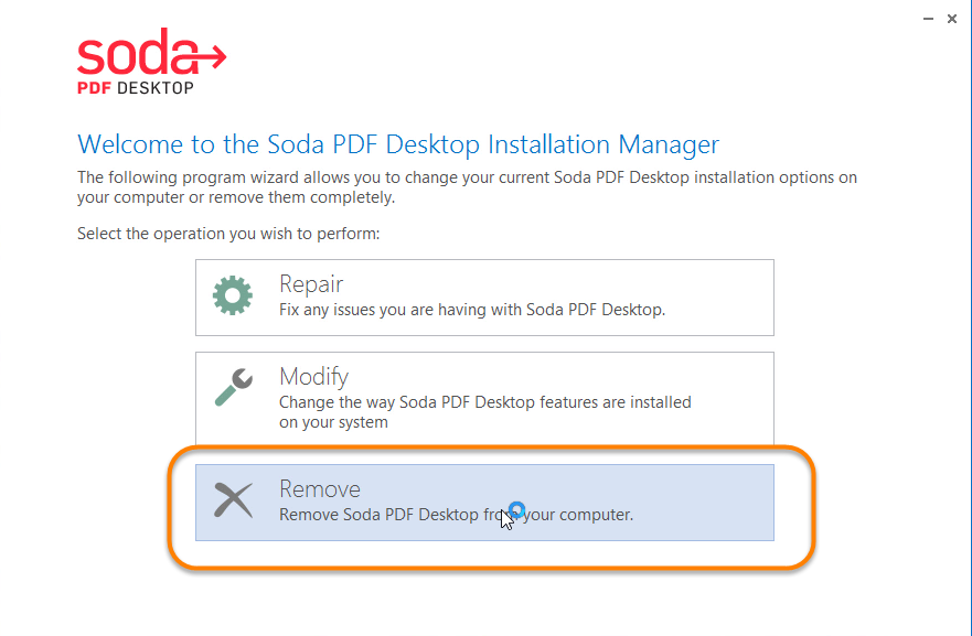 Uninstall Soda PDF Thoroughly from PC – TotalUninstaller com Removal