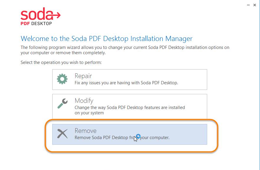 remove soda pdf popup