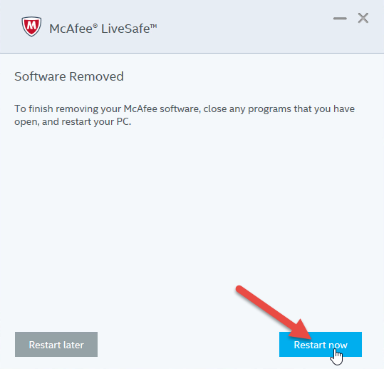 Uninstall McAfee AntiVirus Plus from Computer With A Simple Way