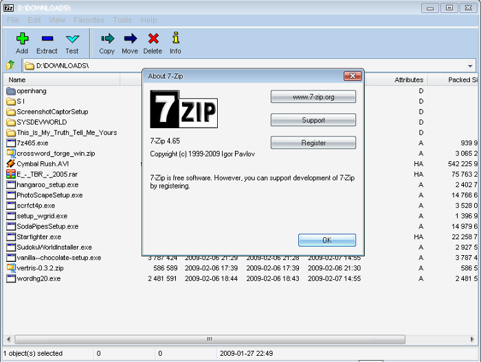 uninstall 7-Zip