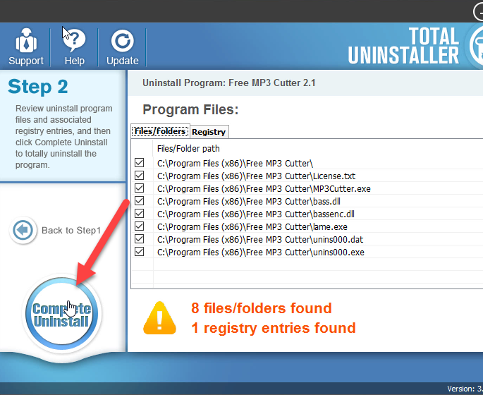 Get Help to Uninstall Free MP3 Cutter Effectively from PC