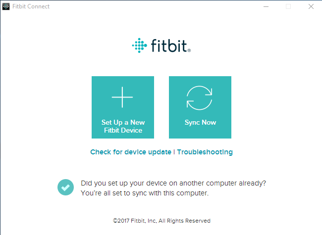 remove Fitbit Connect