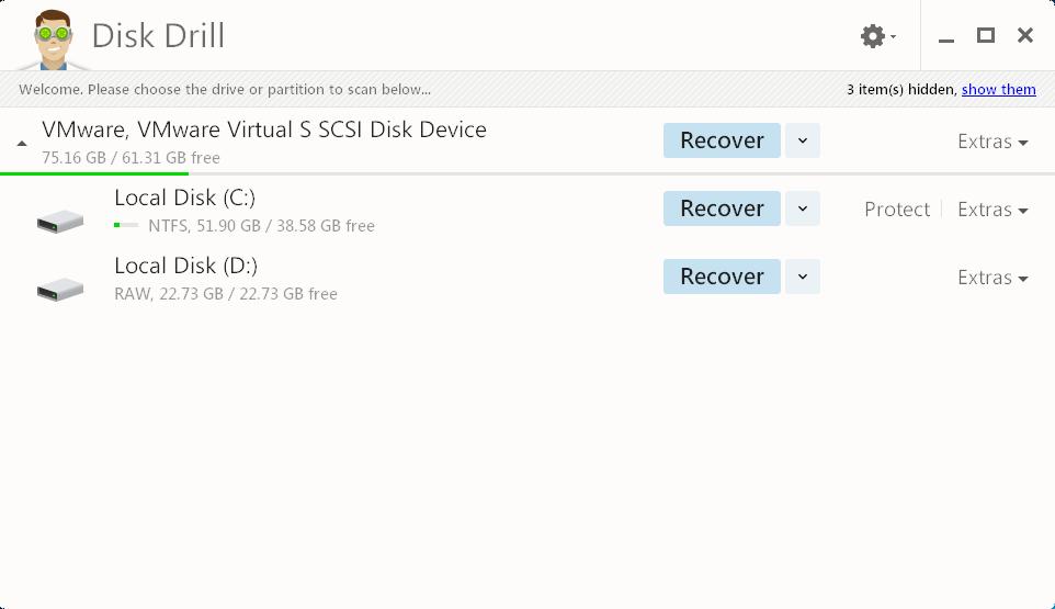 remove Disk Drill