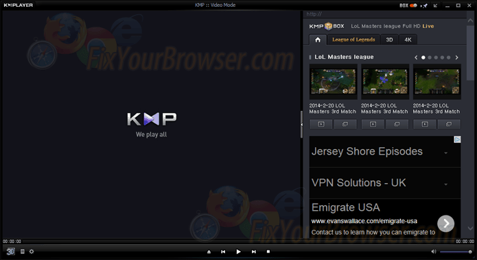 Uninstall KMPlayer