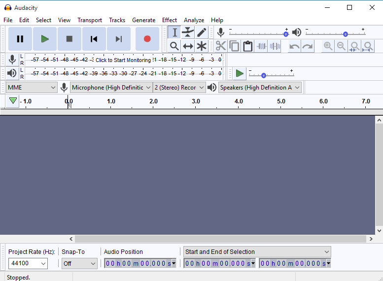 uninstall Audacity