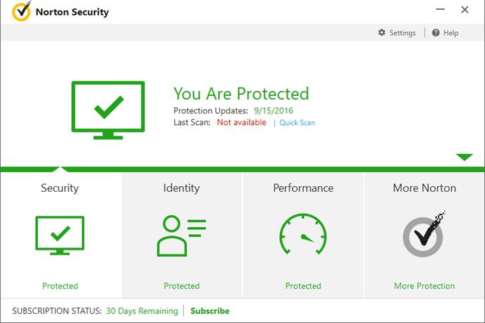 remove Norton Security Deluxe
