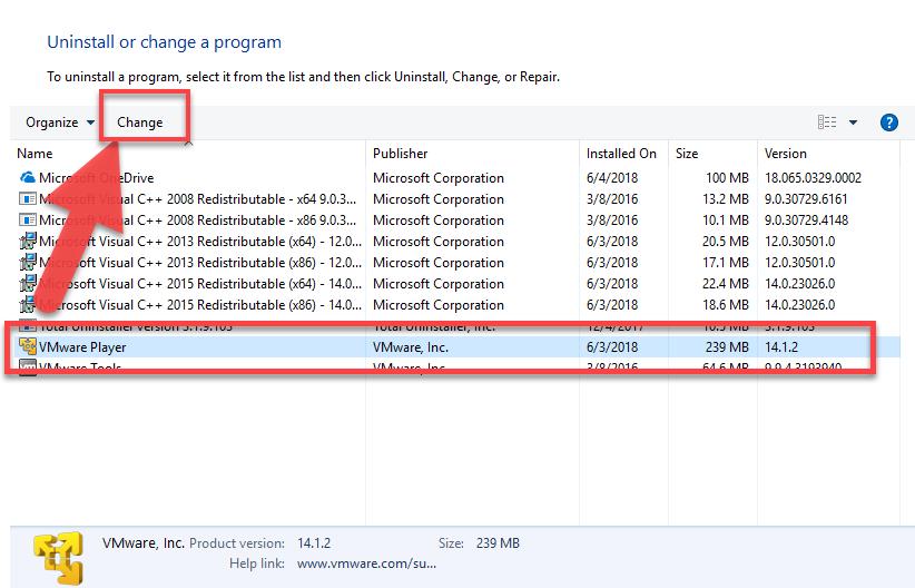 remove_VMware_Player2