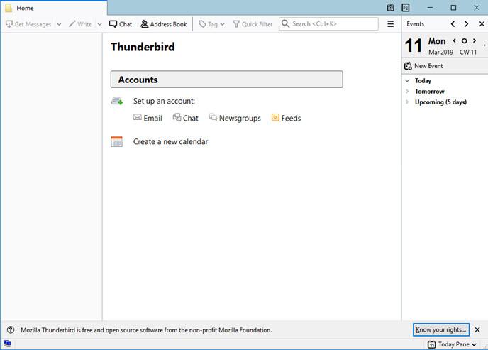 remove Mozilla Thunderbird
