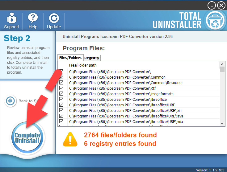 complete_uninstall_PDF_Converter
